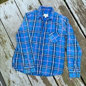 🌻 5 for $25 American Eagle Plaid Flannel Shirt